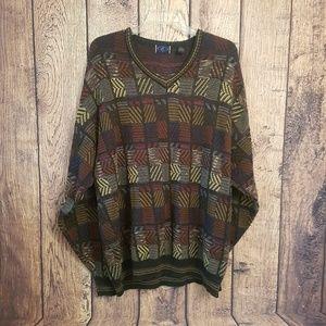 CT men's 3XT crewneck sweater coogi style